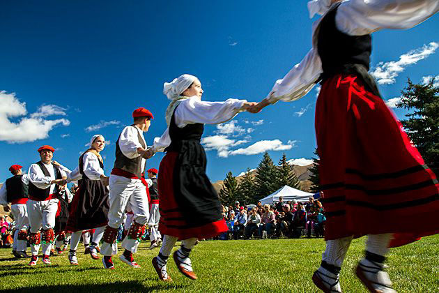 If you get a chance, and this is often possible, go to see some of the local traditional dancers in the Basque region