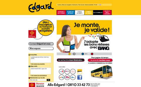 You can explore Provence on the EDGARD bus network