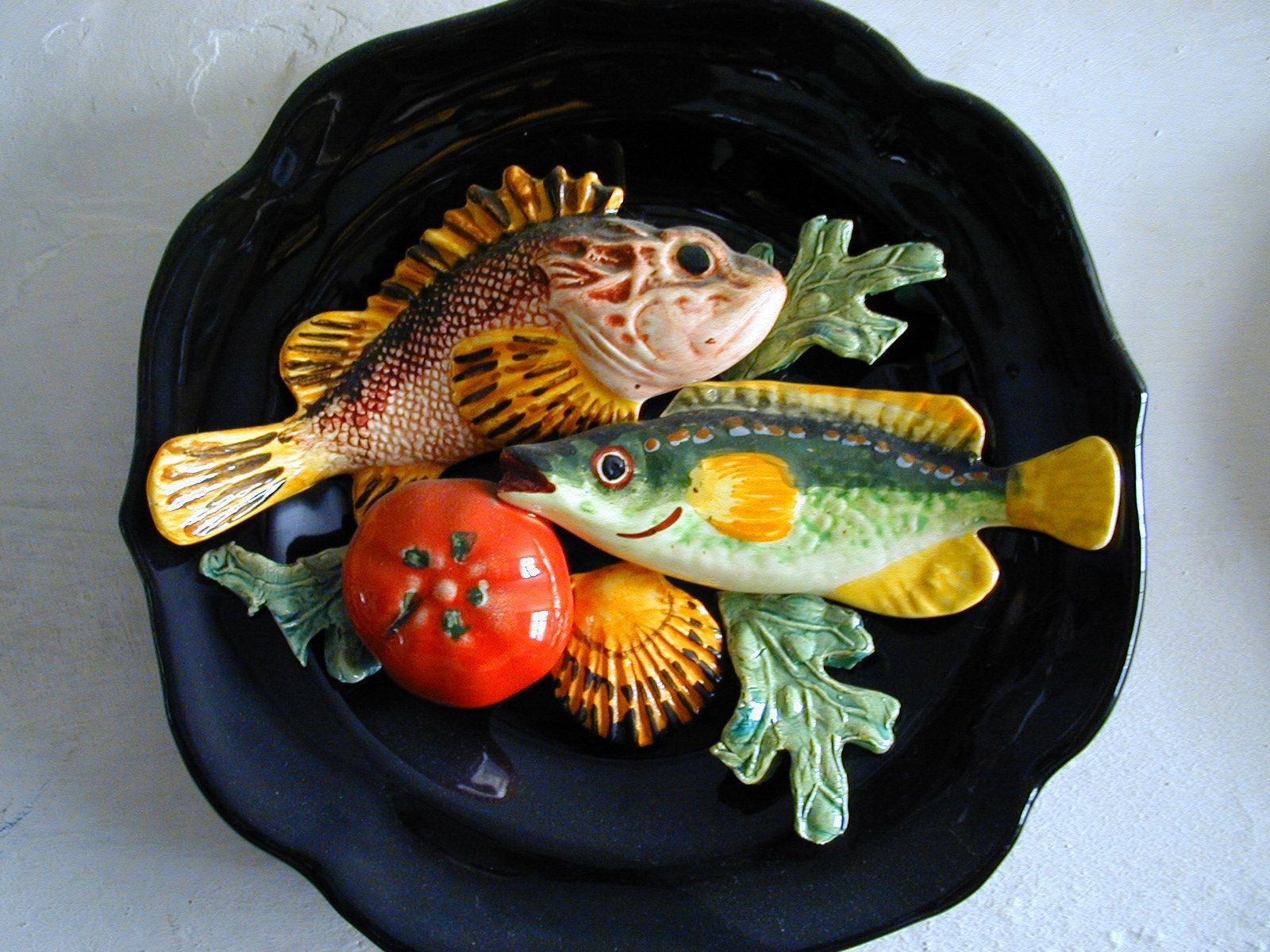 Buy some of the unusual fish pottery if you happen upon one in this lovely region