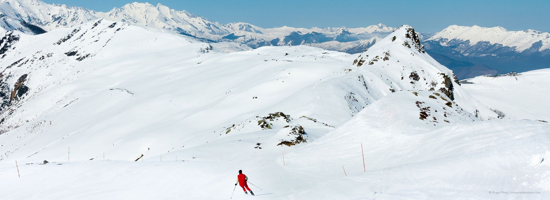 The Pyrenees offers some of the best ski slopes in Europe.