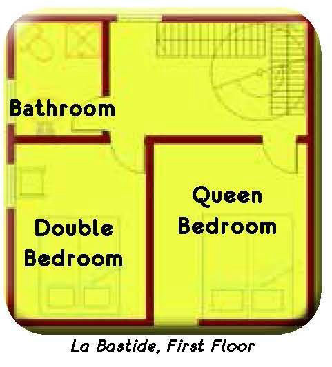 Floor plans are available for all French Cottages properties