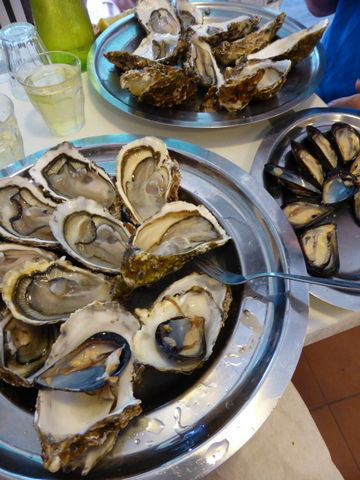We recommend a visit to the seaside French village of Bouzigues to partake of the oysters grown there